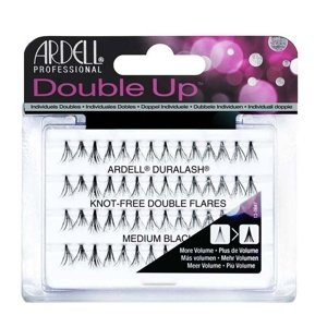 Ardell DOUBLE Individual Naturals Medium Black Kępki