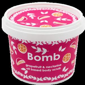 BOMB Cosmetics Naturalny peeling pod prysznic Grejpfrut i Nektarynka
