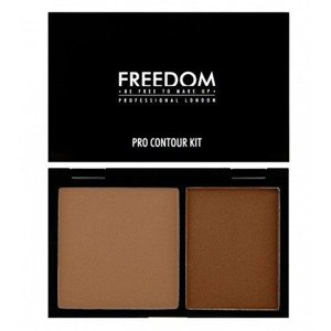 Freedom Makeup Zestaw do konturowania Medium 02