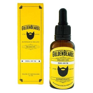 Golden Beards Beard Oil Big Sur Olejek do brody 30ml