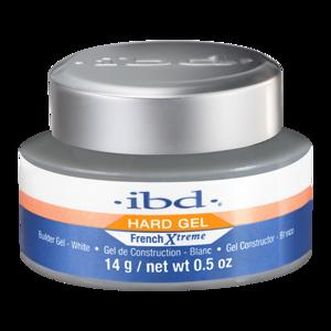 IBD Hard Gel Żel budujący do paznokci French Xtreme LED/UV WHITE 14g