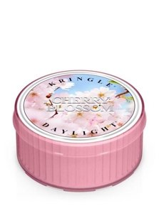 Kringle Candle Coloured Daylight Świeczka zapachowa Cherry Blossom