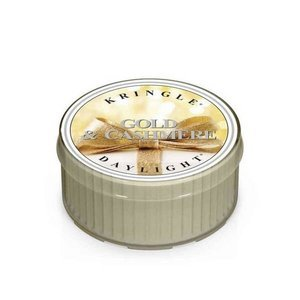 Kringle Candle Coloured Daylight Świeczka zapachowa Gold & Cashmere