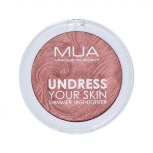 MUA Undress Your Skin Shimmer Highlighter Rozświetlacz Do Twarzy Rosewood Glimmer