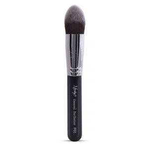 Nanshy Pointed Brush - Conceal Perfector Black P02 Pędzel do podkładu i korektora