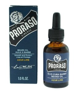 Proraso Beard Oil Azur Lime Olejek do brody 30ml