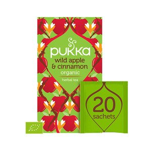 Pukka Herbata Wild Apple & Cinnamon
