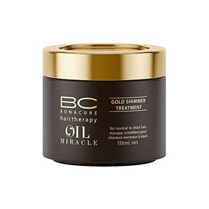 SCHWARZKOPF BC Oil Miracle Gold Shimmer Treatment Maska z olejkiem arganowym 150 ml