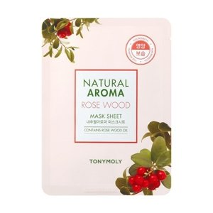 Tony Moly Natural Aroma Mask Sheet Maska w płacie ROSE WOOD