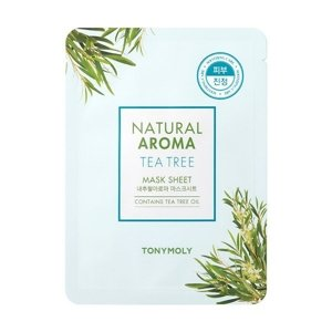 Tony Moly Natural Aroma Mask Sheet Maska w płacie TEA TREE