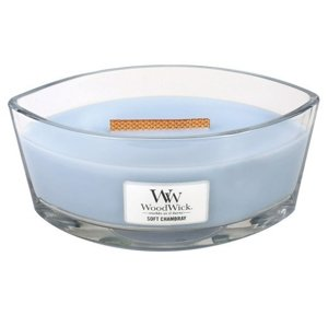 WoodWick Świeca Heartwick Soft Chambray