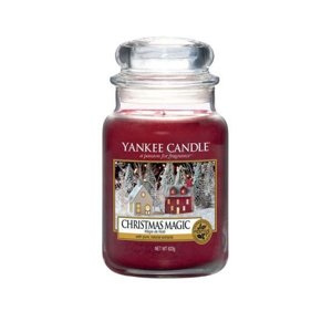 Yankee Candle ŚWIECA W SŁOIKU DUŻA Christmas Magic