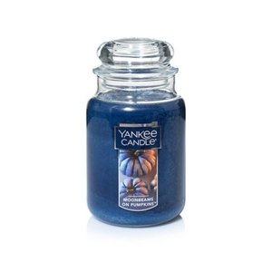 Yankee Candle ŚWIECA W SŁOIKU DUŻA Moonbeams On Pumpkins