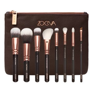 ZOEVA ROSE GOLDEN LUXURY SET Zestaw 8 pędzli ETUI