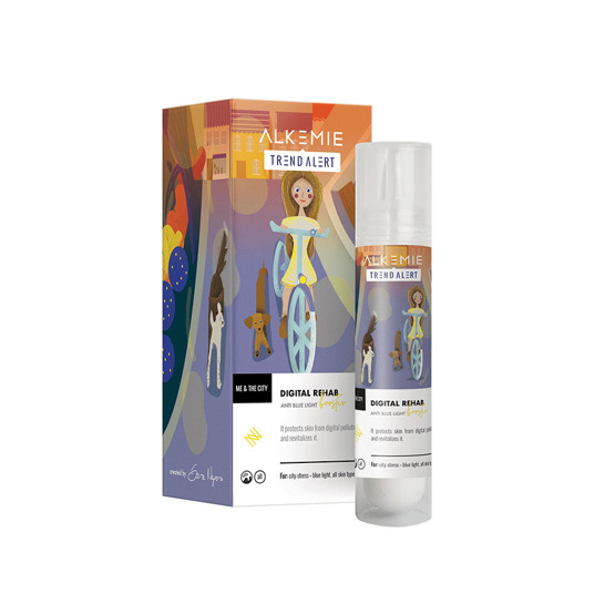 Alkemie ME & THE CITY Rewitalizujący booster do twarzy Digital rehab 30ml