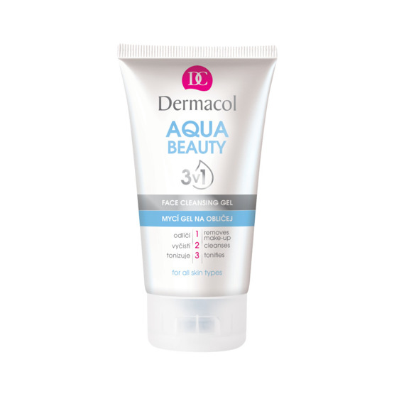 Dermacol Aqua Beauty 3in1 Face Cleansing Gel Żel do mycia twarzy 150ml