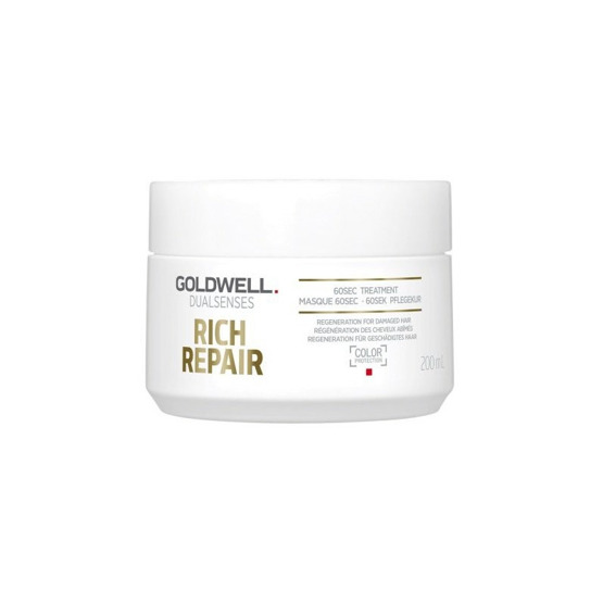 GOLDWELL Dualsenses Rich Repair 60sek Maska do włosów 200ml
