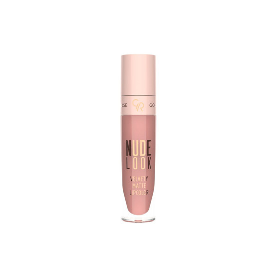 Golden Rose Velvety Matte Lipcolor - Nude Look Matowa pomadka do ust w płynie 03
