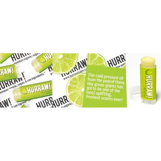 Hurraw! Balsam do ust Lime