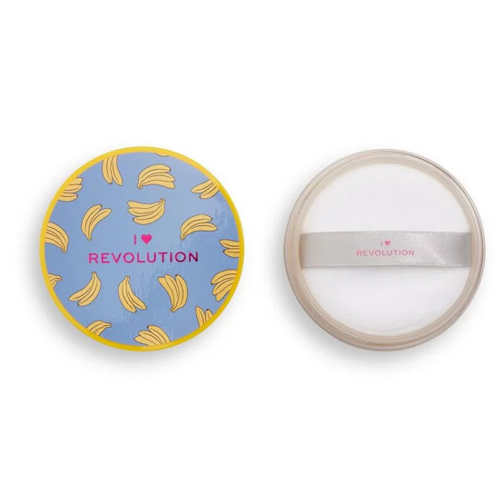 I Heart Revolution  Loose Baking Powder Puder sypki Banana