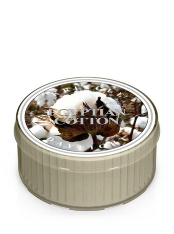 Kringle Candle Coloured Daylight Świeczka zapachowa Egyptian Cotton