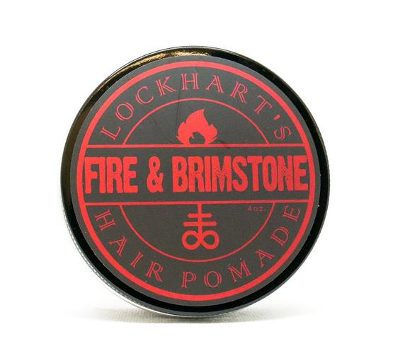 Lockhart's Fire&Brimstone Oil Based Medium Hold woskowa pomada do włosów 105g
