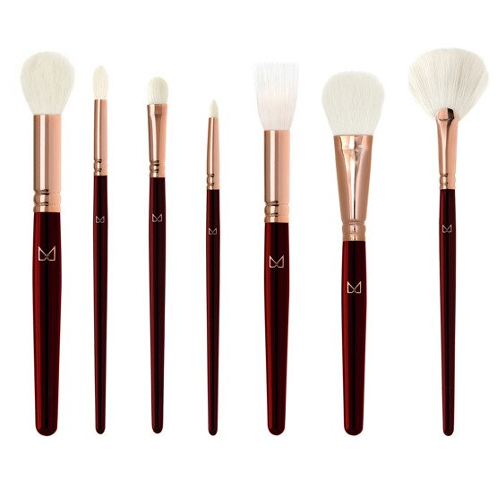 M Brush by Maxineczka Burgundy Collection Zestaw 7 pędzli
