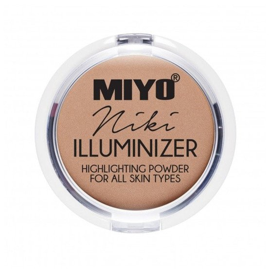 MIYO Illuminizer Highlighting Powder Rozświetlacz do twarzy 04 NIKI