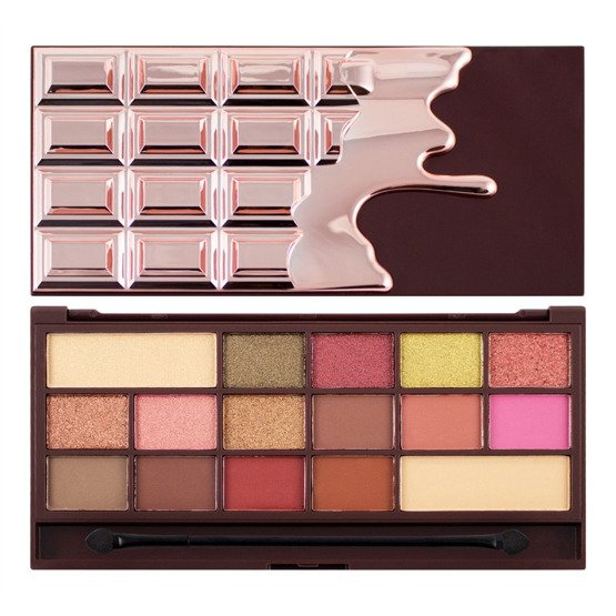 Makeup Revolution Paleta cieni CHOCOLATE ROSE GOLD
