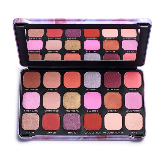 Makeup Revolution REVOLUTION Paleta cieni Forever Flawless Unconditional Love