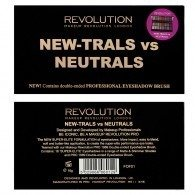 Makeup Revolution REVOLUTION Paleta cieni NEW-TRALS VS NEUTRALS
