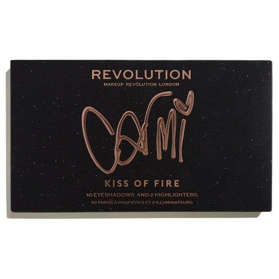 Makeup Revolution REVOLUTION X CARMI Paleta do makijażu Kiss Of Fire Palette