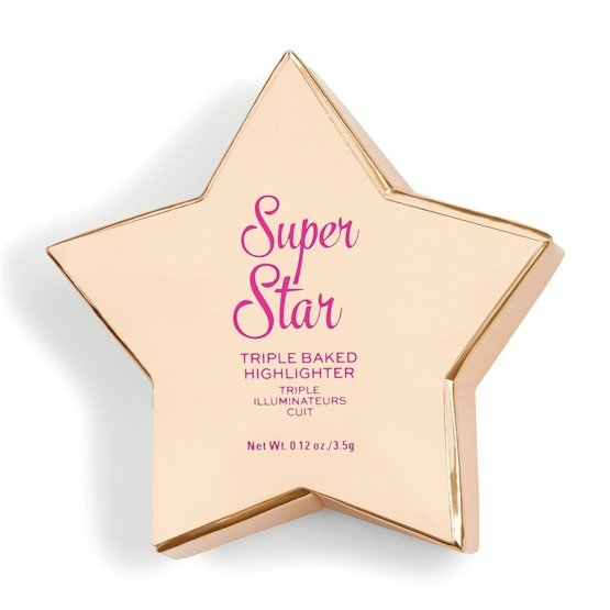 Makeup Revolution Rozświetlacz do twarzy Star of the Show Highlighter Super Star