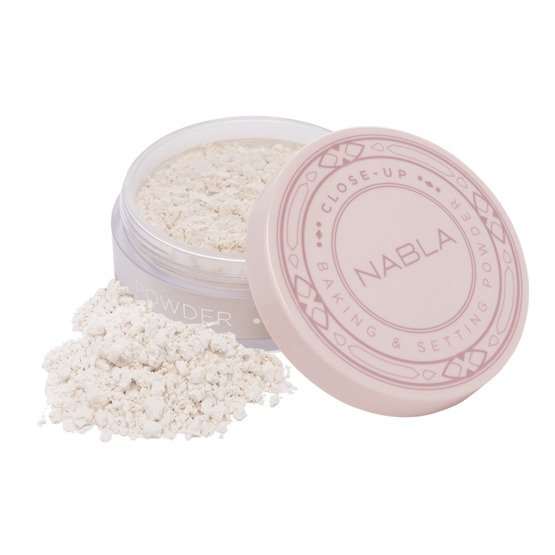 NABLA Close-up Baking&Setting Powder Puder sypki do twarzy Translucent