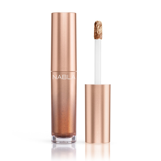 NABLA DENUDE COLLECTION Metalglam Metallic Liquid Eyeshadow Cień w płynie Golden Hour