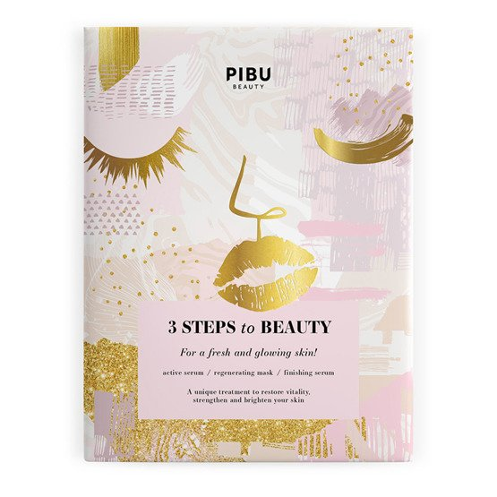 PIBU BEAUTY 3 Step to Beauty Mask