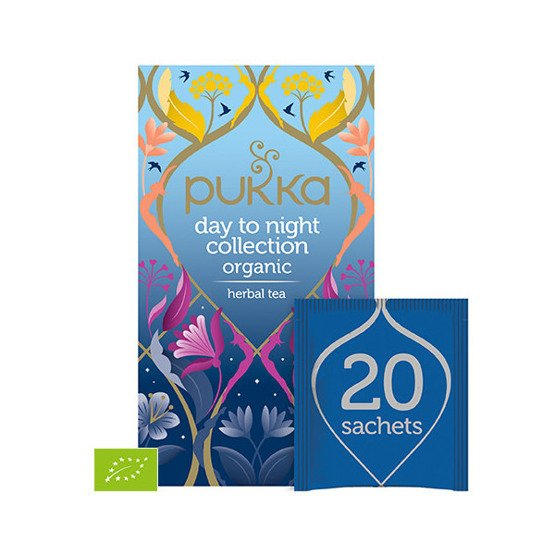 Pukka Herbata Day to Night Collection - 20 saszetek