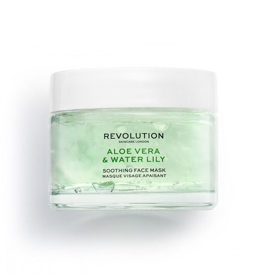 Revolution Skincare Aloe Vera & Water Lily Soothing Face Mask 50ml