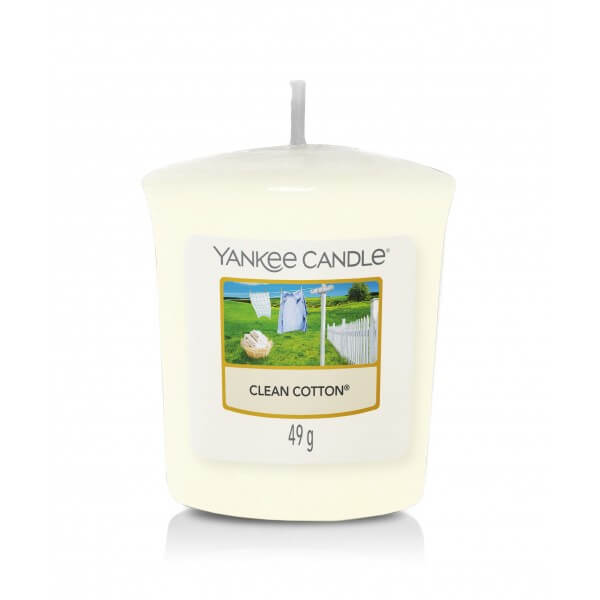 Yankee Candle Sampler Clean Cotton