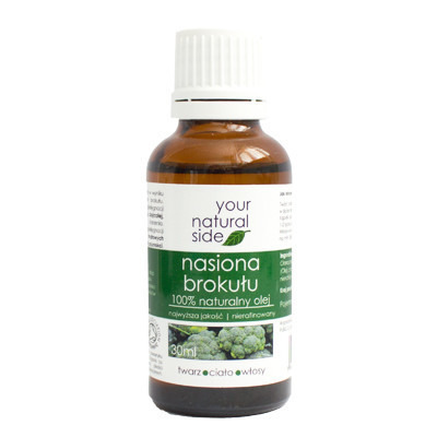Your Natural Side Olej Nierafinowany Z NASION BROKUŁU 30ml