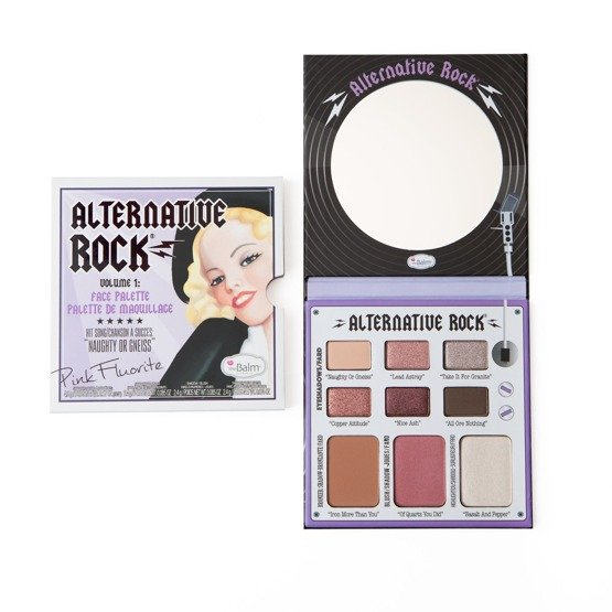 theBalm Paleta do makijażu oczu i twarzy ALTERNATIVE ROCK VOL. 1