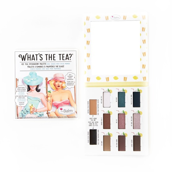 theBalm WHAT'S THE TEA? Paleta cieni ICE TEA